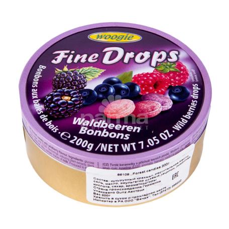 Սառնաշաքար «Woogie Fine Drops» հատապտուղներ 200գ