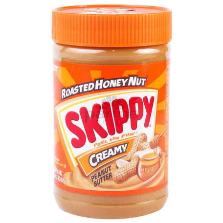 Կարագ-կրեմ գետնանուշի «Skippy» 462գ