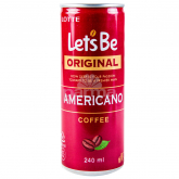 Սառը սուրճ «Lotte Let's be americano» 240մլ