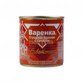 Կաթ պարունակող խտացրած մթերք «Советская» եփած, շաքարով 370գ