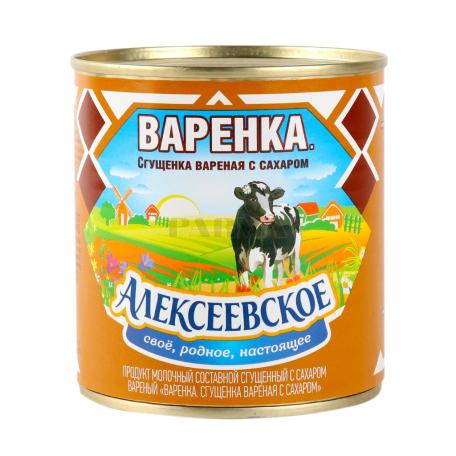 Խտացրած կաթ «Aлексеевскoe» եփած 8.5% 370գ
