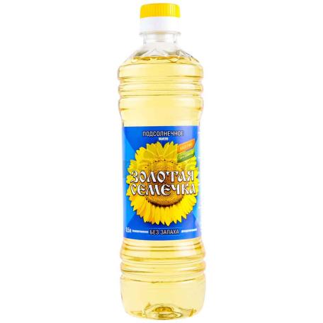 Ձեթ արևածաղկի «Золотая Семечка» 500մլ