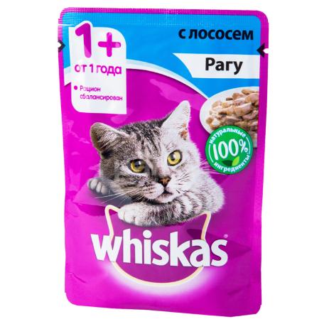 Կատվի խոնավ կեր «Whiskas» սաղմոնով 85գ