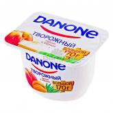 Կաթնաշոռային արտադրանք «Danone»  կրեմով դեղձ և ծիրան 3.6%  170գ