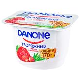 Կաթնաշոռային արտադրանք «Danone» ելակ և մորի 3.6% 170գ