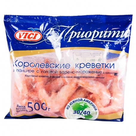 Մանր ծովախեցգետին «Vici» թագավորական 30/40 500գ