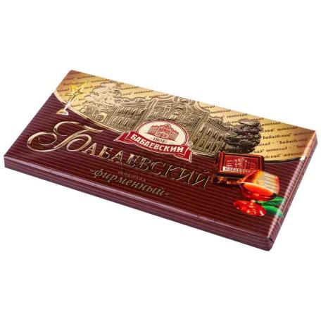 Շոկոլադե սալիկ «Бабаевский» 100գ