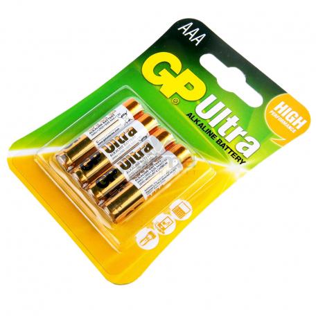 Մարտկոց «GP Ultra Alkaline» AAA 1.5v