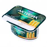 Յոգուրտ կաթնաշոռային «Danone Активиа» թեփ և ցորեն 2.8% 130գ
