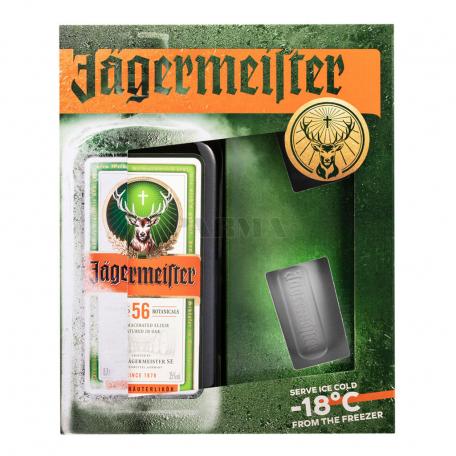 Լիկյոր «Jagermeister» + 2 բաժակ 700մլ