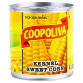 Եգիպտացորեն «Coopoliva» 212մլ