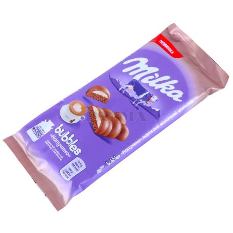 Շոկոլադե սալիկ «Milka Bubbles» 97գ