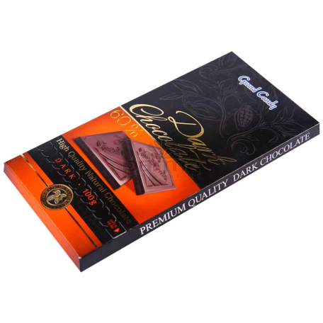 Շոկոլադե սալիկ «Գրանդ Քենդի» 60% 100գ