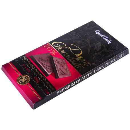Շոկոլադե սալիկ «Գրանդ Քենդի» 70% 100գ