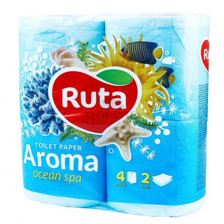 Զուգարանի թուղթ «Ruta Aroma» 4 հատ