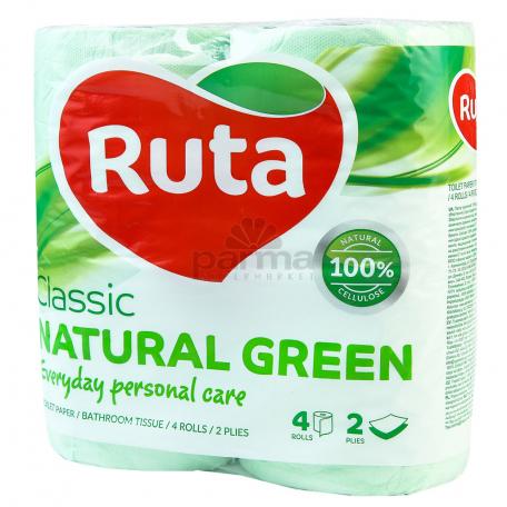 Զուգարանի թուղթ «Ruta Natural Green» 4 հատ