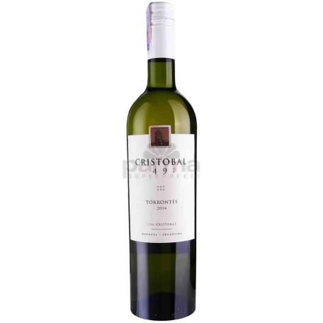 Вино `Cristobal 1492 Torrontes` 750мл