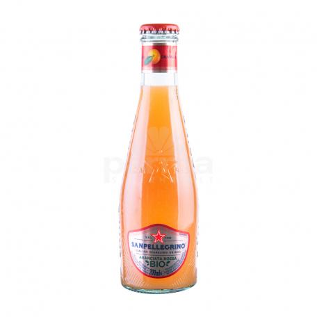 Զովացուցիչ ըմպելիք «San Pellegrino» կարմիր նարինջ 200մլ