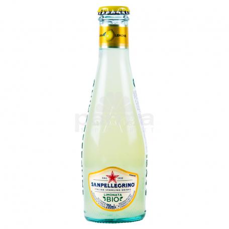 Զովացուցիչ ըմպելիք «San Pellegrino Bio» կիտրոն 200մլ
