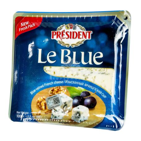Պանիր բորբոսով «President Le Blue» 50% 100գ