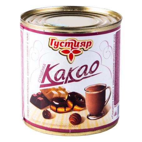 Խտացրած կաթ «Густияр» կակաո 1% 380գ