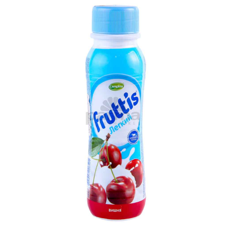 Յոգուրտ ըմպելի «Campina Fruttis» բալ 0.1% 285գ
