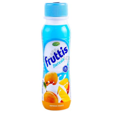 Յոգուրտ ըմպելի «CampinaFruttis» մանգո, ծիրան 0.1% 285գ