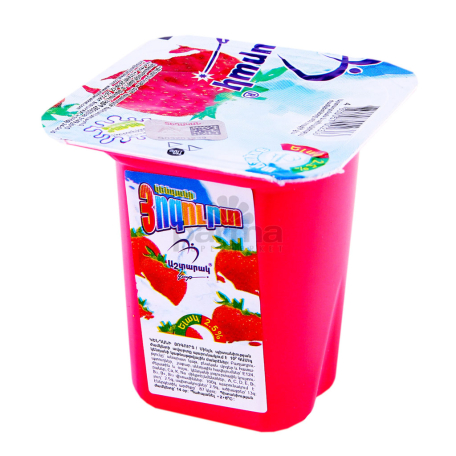Յոգուրտ «Աշտարակ կաթ» ելակ 2.5% 110գ
