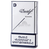 Ծխախոտ «Davidoff Shape White»