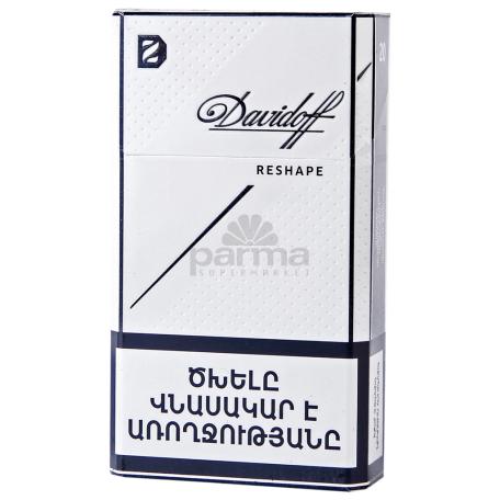 Ծխախոտ «Davidoff Shape White»