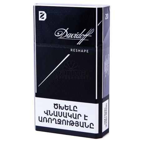 Ծխախոտ «Davidoff Shape Black»