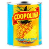 Կոմպոտ արքայախնձորի «Coopoliva» 850գ