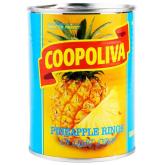 Կոմպոտ արքայախնձորի «Coopoliva» 565գ