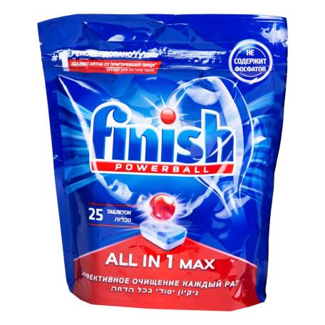 Հաբ սպասքի մեքենայի «Finish Аll in 1 Мax» 25 հատ 425գ