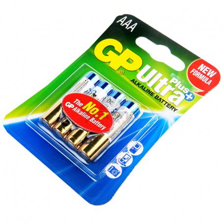 Մարտկոց «GP Ultra Plus Alkaline» AAA 24AUP-UE4