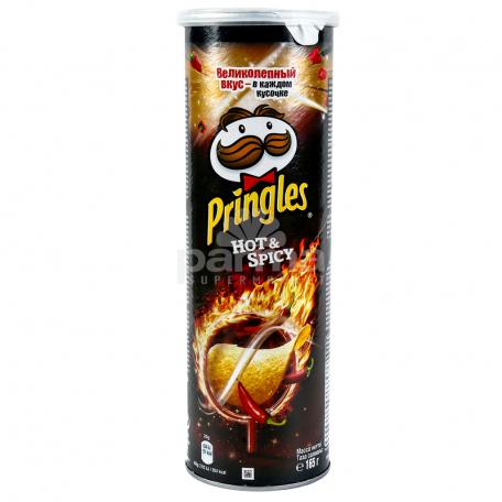 Չիպս «Pringles» կծու 165գ