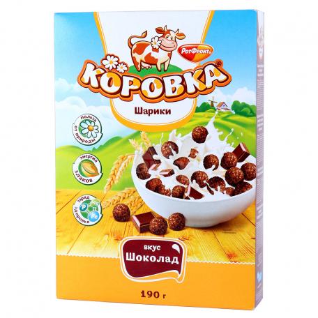 Փաթիլներ «Коровка» շոկոլադե 190գ