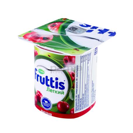 Յոգուրտային արտադրանք «Campina Fruttis» ելակ, բալ 0.1% 110գ