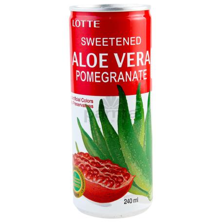 Ըմպելիք «Lotte Aloe» նուռ 240մլ