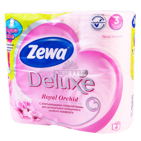 Զուգարանի թուղթ «Zewa Deluxe» 4 հատ