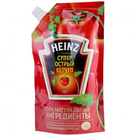 Կետչուպ «Heinz» կծու 350գ
