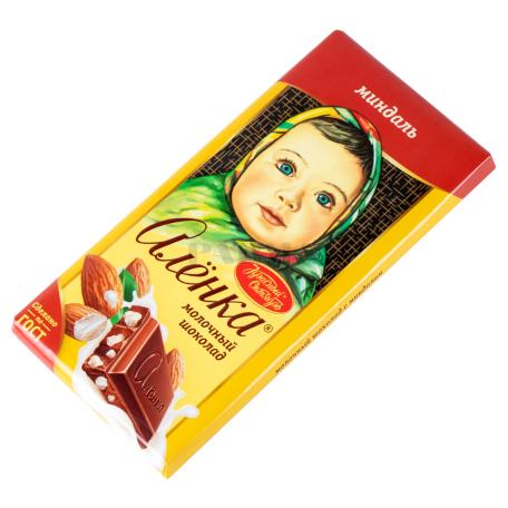 Շոկոլադե սալիկ «Аленка» նուշով 90գ