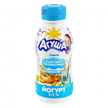 Յոգուրտ ըմպելի «Агуша» 200գ