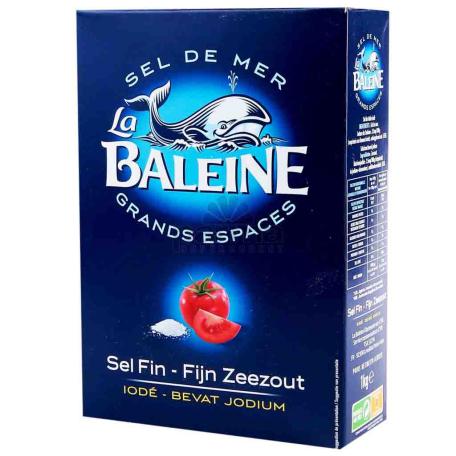 Աղ ծովի «Baleine» մանր 1կգ