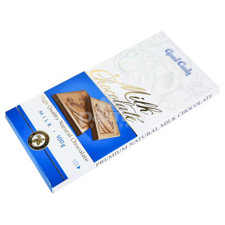 Շոկոլադե սալիկ «Գրանդ Քենդի» կաթնային 100գ