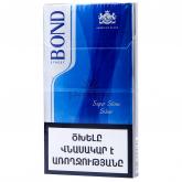 Ծխախոտ «Bond Super Slims Silver»
