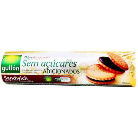 Թխվածքաբլիթ դիետիկ «Gullon Choco Sandwich» 250գ