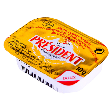 Կարագ «President» 82% 10գ