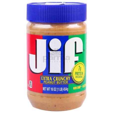 Կարագ-կրեմ գետնանուշի «Jif Extra Crunchy» 454գ