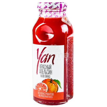 Հյութ բնական «Յան» կարմիր նարինջ 250մլ